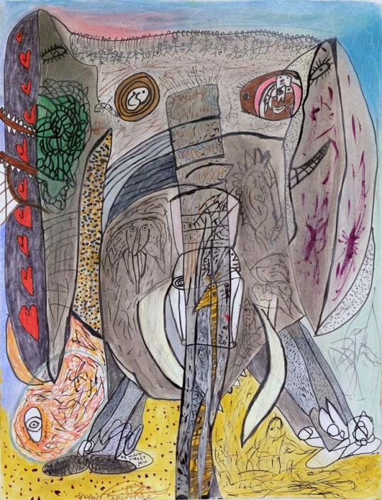 The Elephant - 18x24