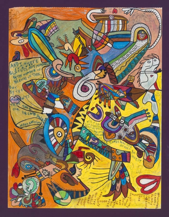 The Mayan - 18x24