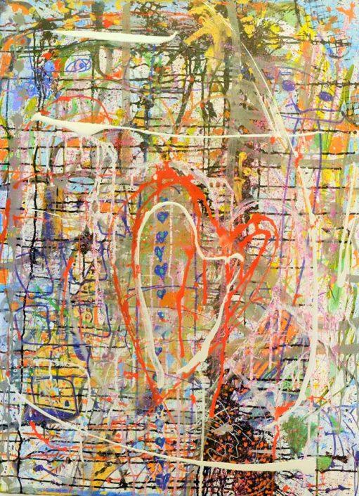 Chaos Heart 30x40