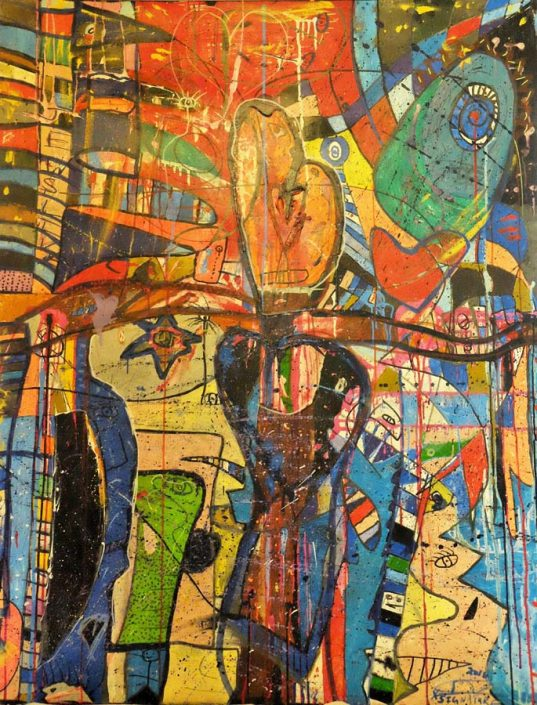 The Crucifixion 48x60