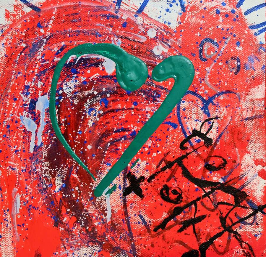 Green Heart - 10x10