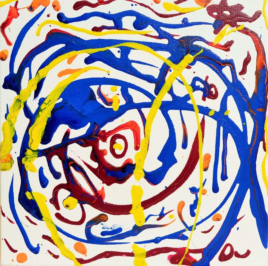 Rainbow Circles - 10x10